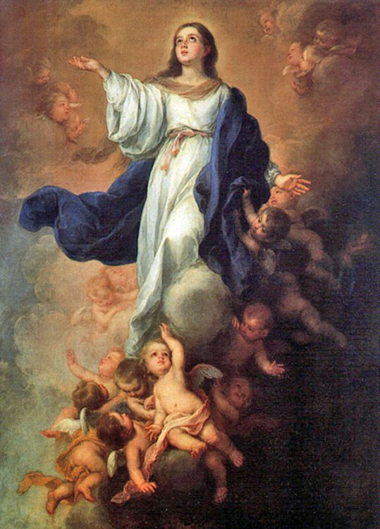 Assumption of the Blessed Virgin Mary, a Holy Day of Obligation