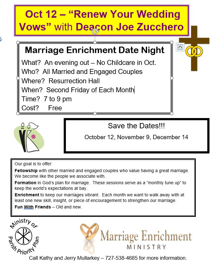Marriage Enrichment Date Night