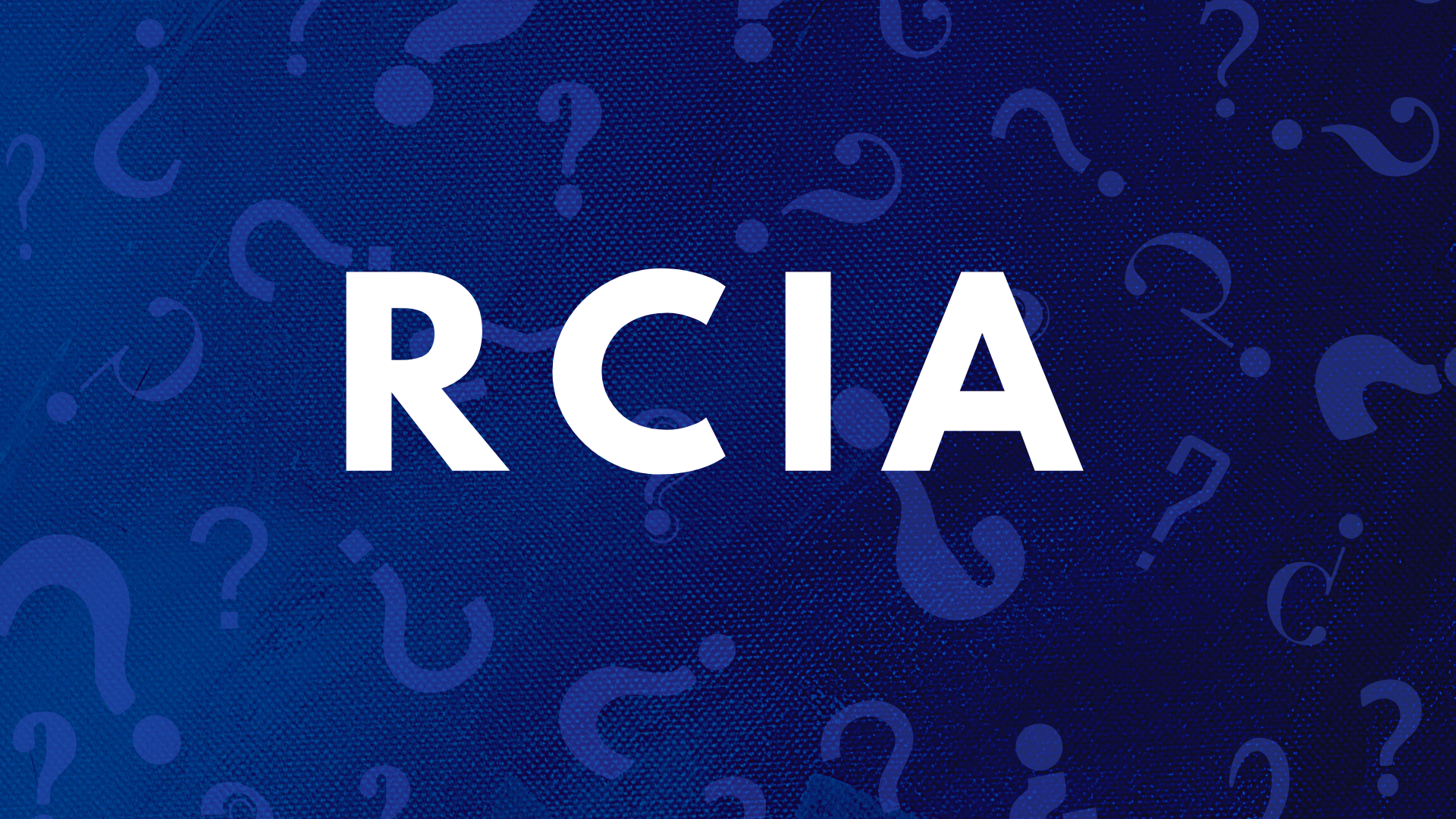 Join RCIA